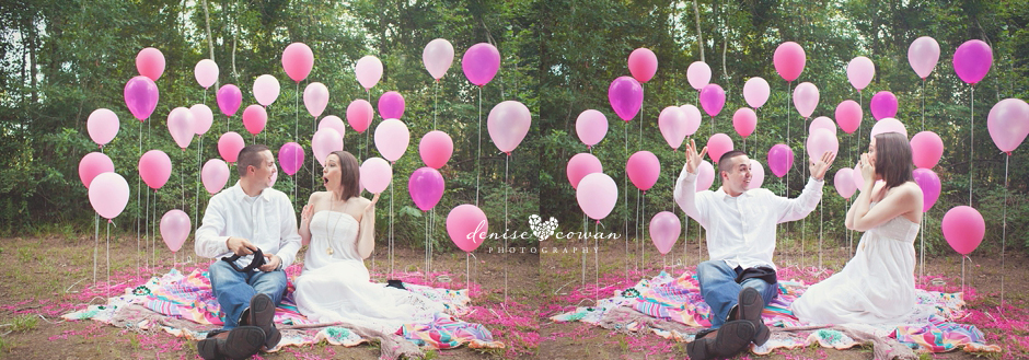 West Houston Gender Reveal Photography
