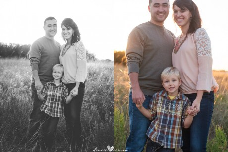 Katy Tx Family Photography - Field at sunset